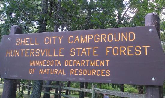 huntersville state forest minnesota dnr